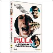Paula A História De Uma Subversiva - Raríssimo -  Dvd @