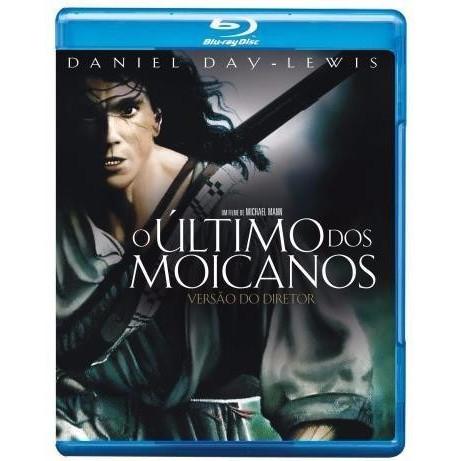 O Último Dos Moicanos - Blu-ray Original Novo Lacrado