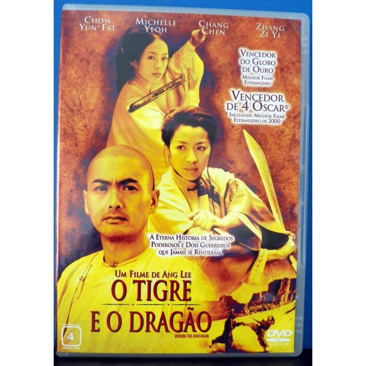 O Tigre E O Dragão  - Dvd  @