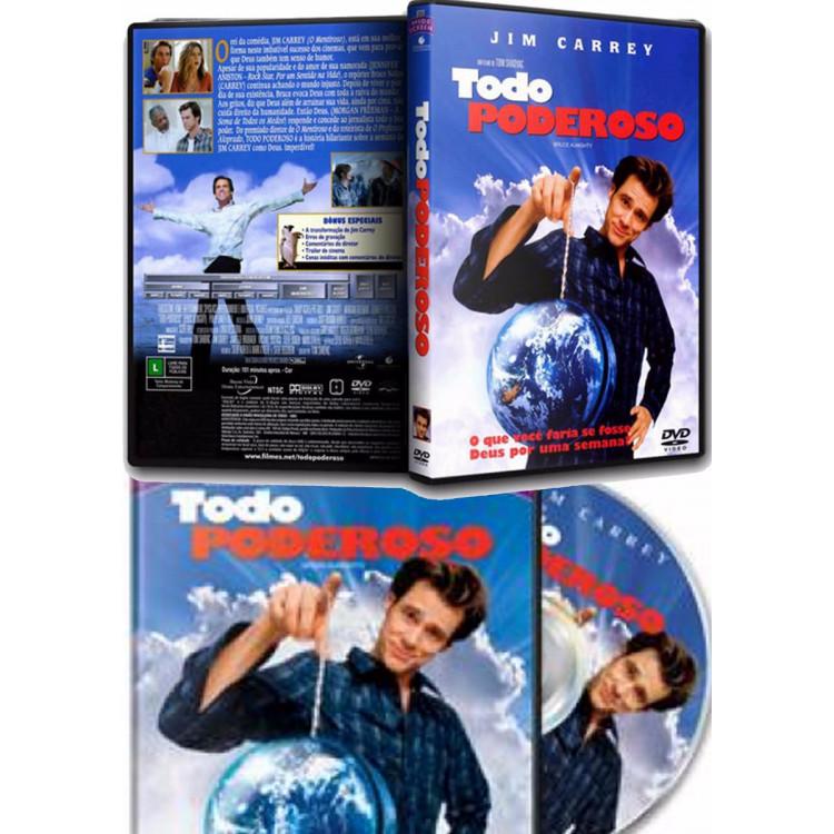 Todo Poderoso - Jim Carrey  -  Dvd